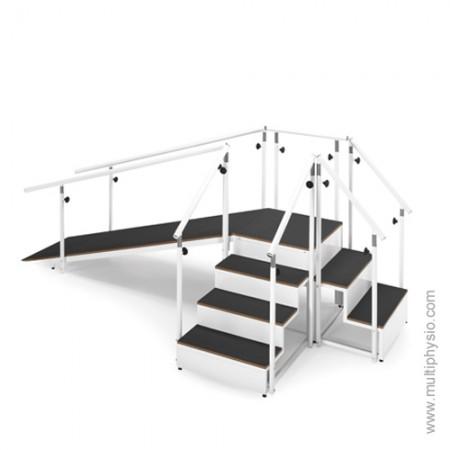Escadas e Rampa Modular