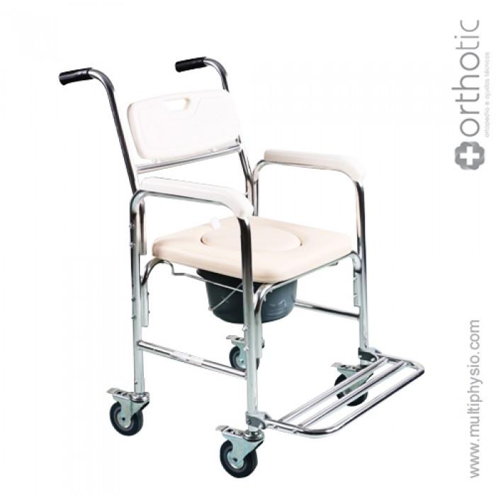 Cadeira de Duche e Sanitária com Rodas Orthotic