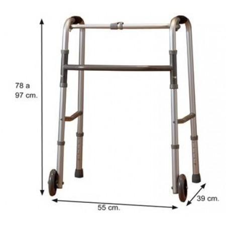 Andarilho Articulado com Rodas Orthotic