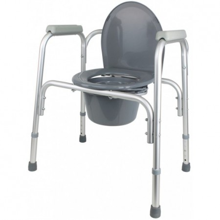 Cadeira de Duche e Sanitária de Alumínio Orthotic