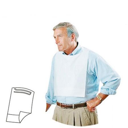 Babete Impermeável adulto - Com Bolsa | 100 unidades