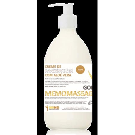 Creme Massagem Neutro com Manteiga de Cacau e Aloé Vera - 500ml