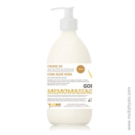 Creme Massagem Neutro com Manteiga de Cacau e Aloé Vera 500ml