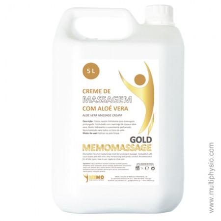 Creme Massagem Neutro com Manteiga de Cacau e Aloé Vera 5 Lt